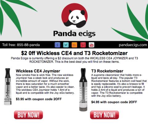 Panda ecigs coupon code