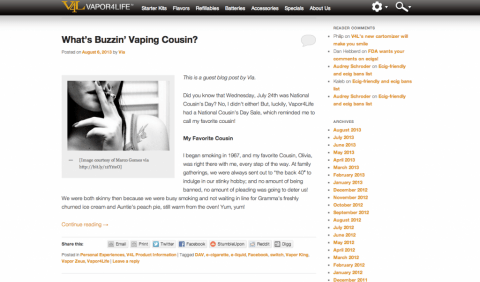 v4l blog screenshot