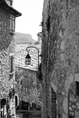 Street lamp in Eze.