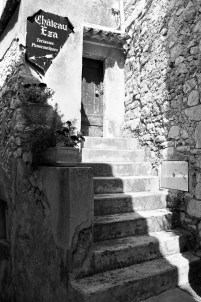 Steps and doorway in Eze.