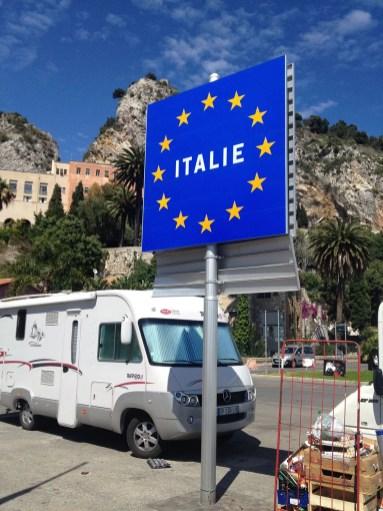 The Italian Border