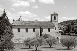 The Protestant Church, Lourmarin, France.