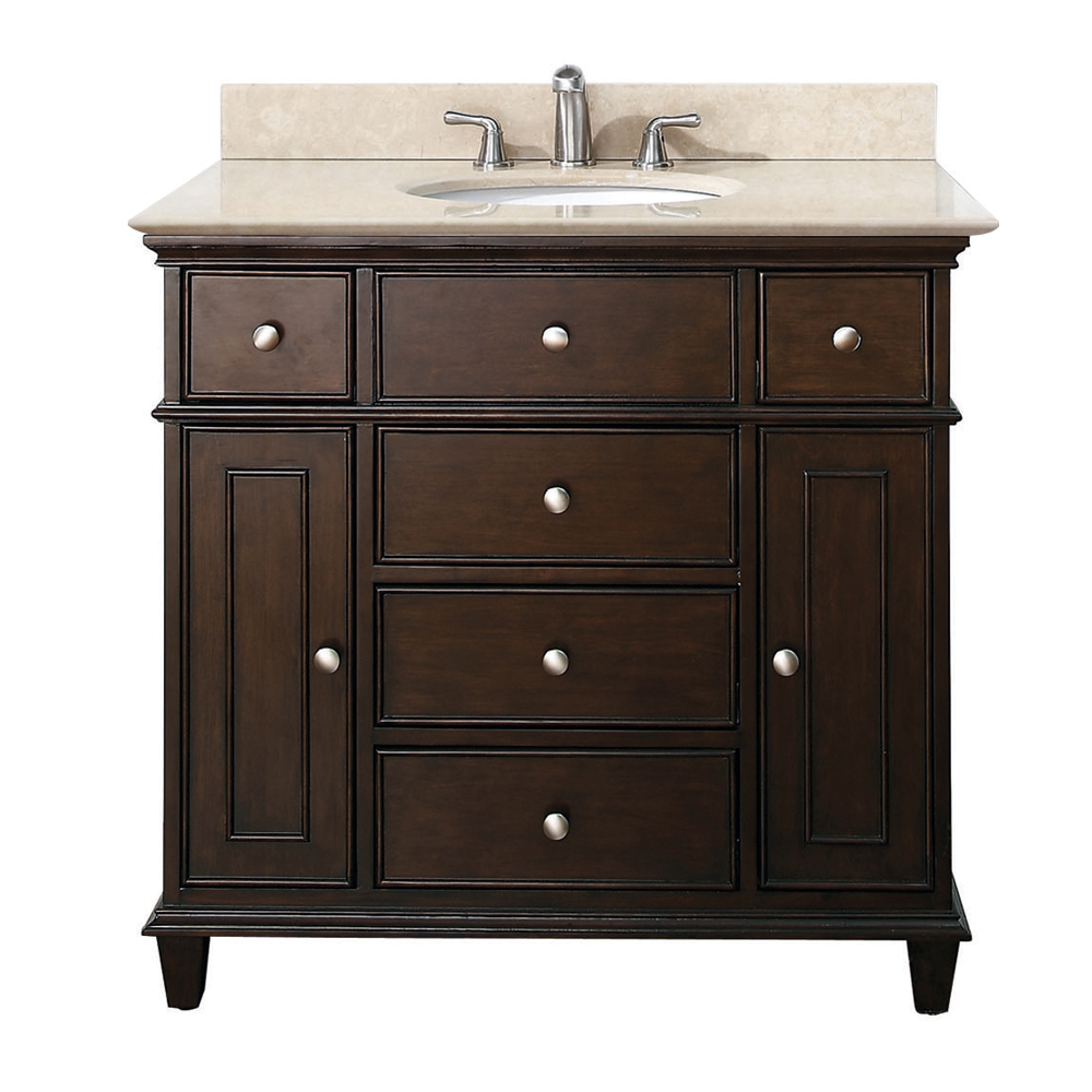 36 Inch Bathroom Vanity With Top  Interior Design