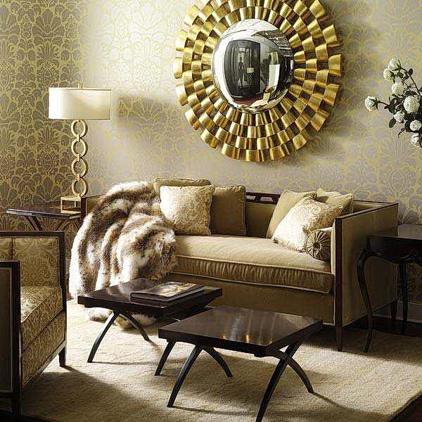 living room wall color ideas india curtains walmart 18 decorative mirrors for - interior design ...