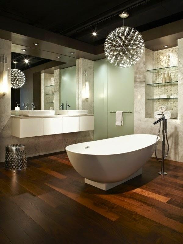 led ceiling lighting ideas bathroom