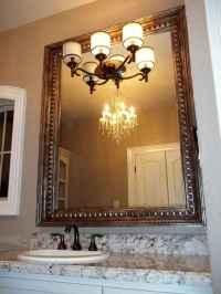 Mirror Molding As Bathroom Decoration Element - Interior ...