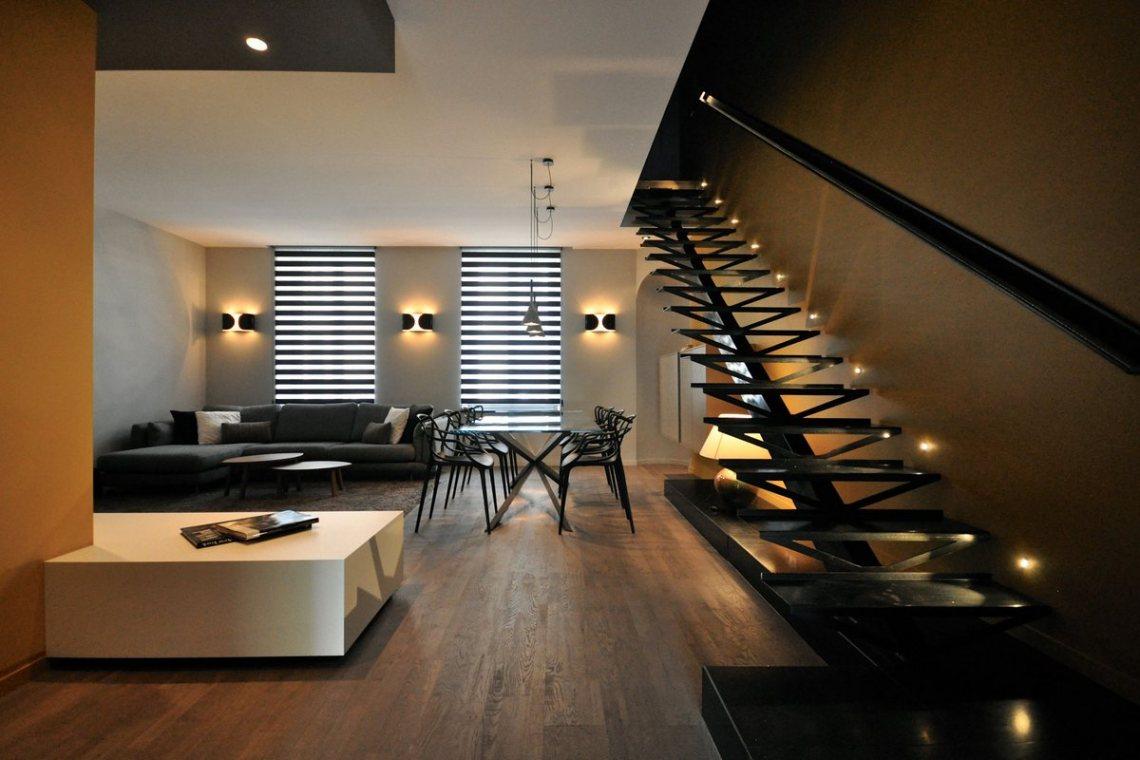 Luxury Interior Design for Duplex Apartment Near Parc ...