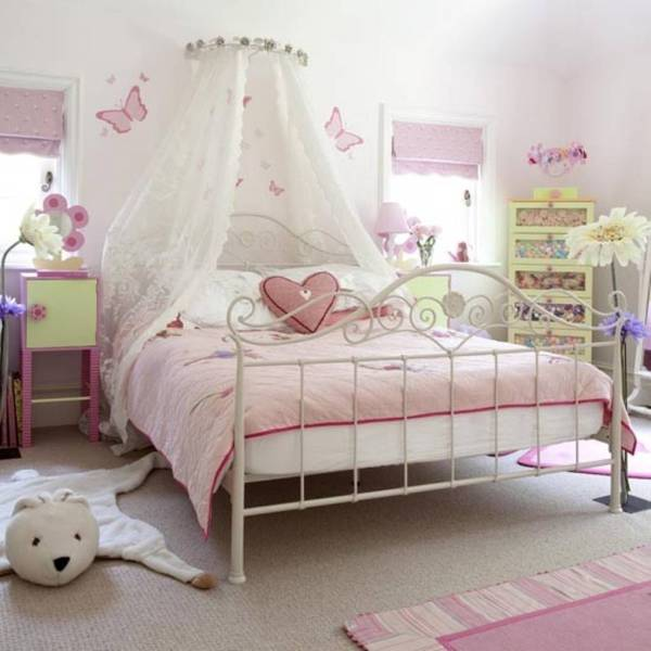 little girl princess bedroom ideas 15 Beautiful and Unique Bedroom Designs for Girls - Interior Design Inspirations