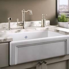 White Kitchen Sink Undermount Kidkraft Sets Faucet Indispensable A Modernity Interior