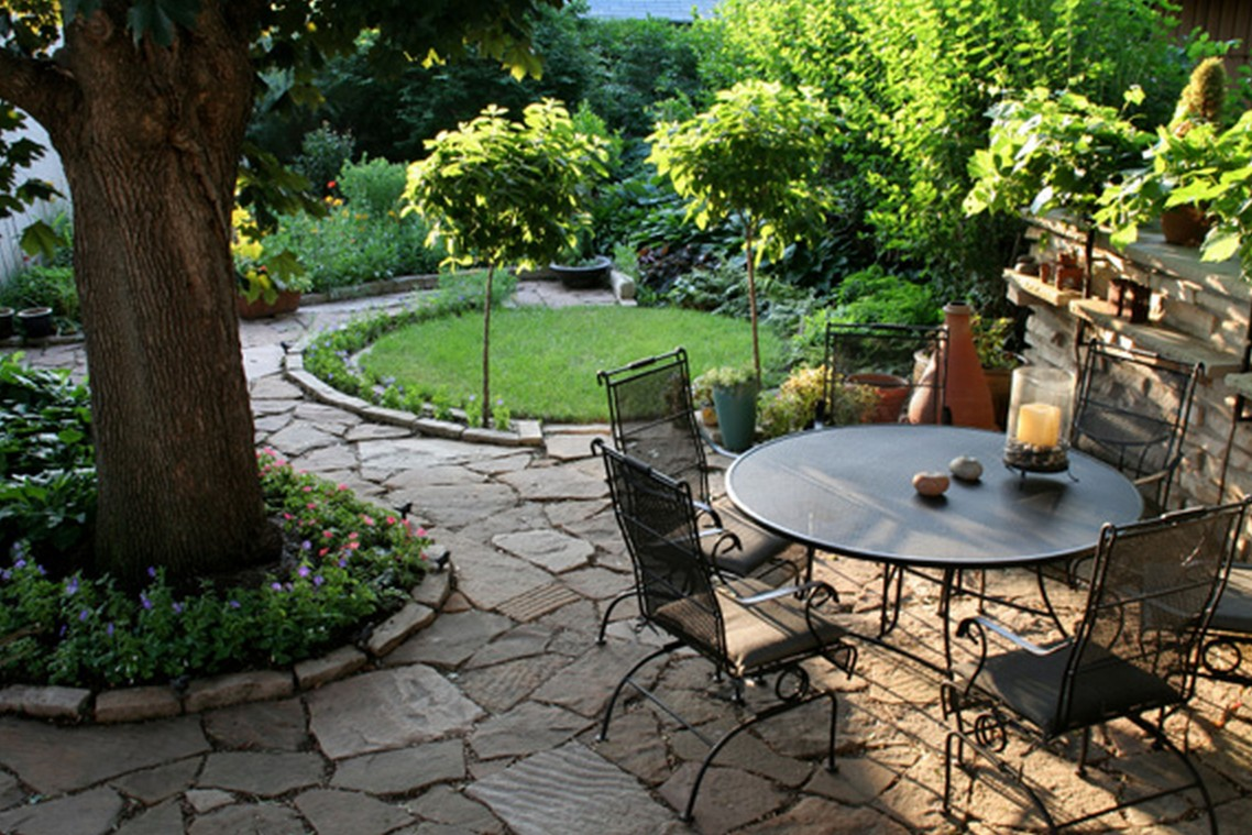 Cool Backyard Landscape Ideas That Make Your Home As A Castle  Interior Design Inspirations