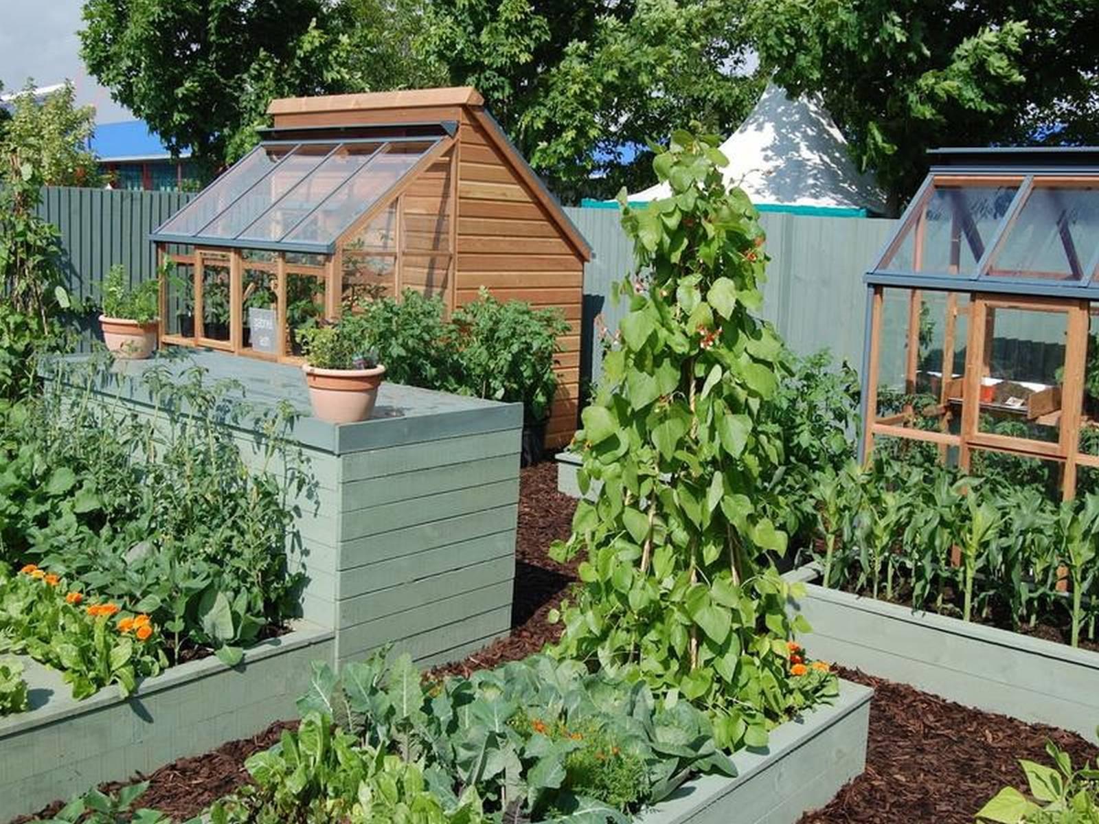 20 Impressive vegetable garden designs and plans  Interior Design Inspirations