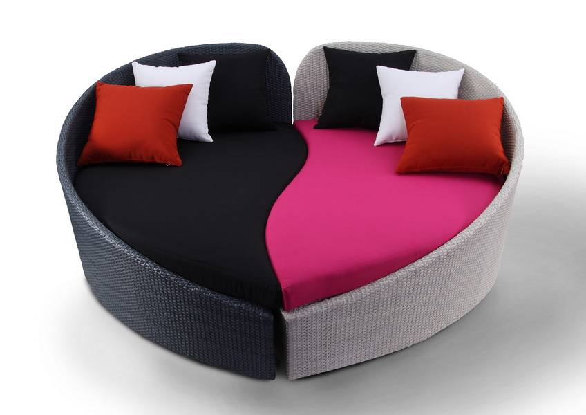 Unusual Shaped Sofas Layered Sofa With An Shape Unique Table