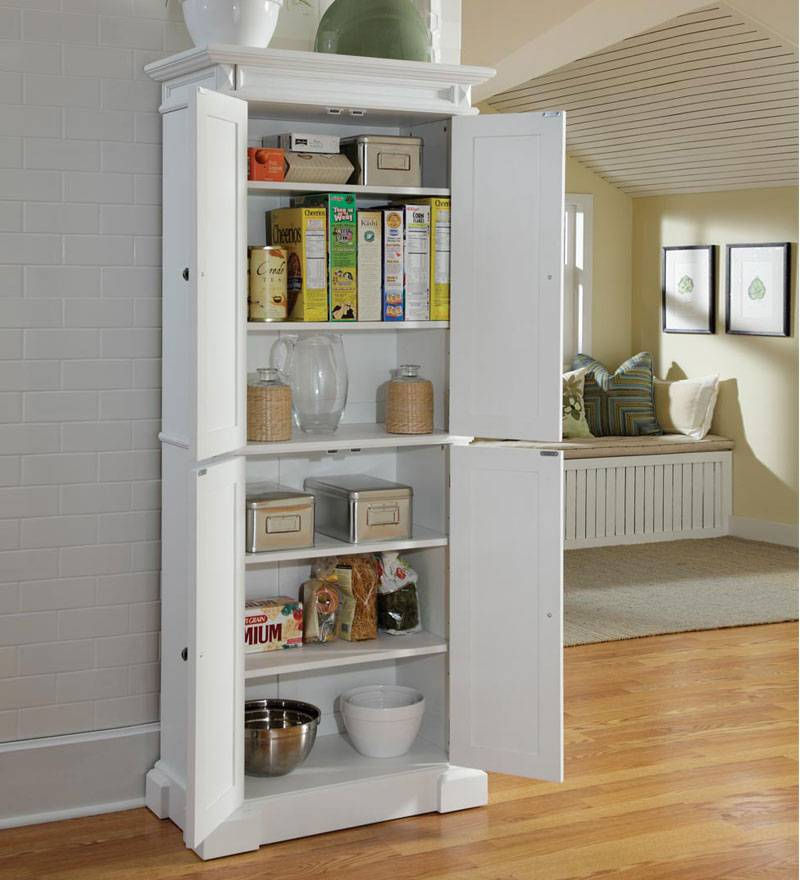 kitchen pantry cabinet freestanding buy cabinets online 24 beautiful and functional free standing larder ...