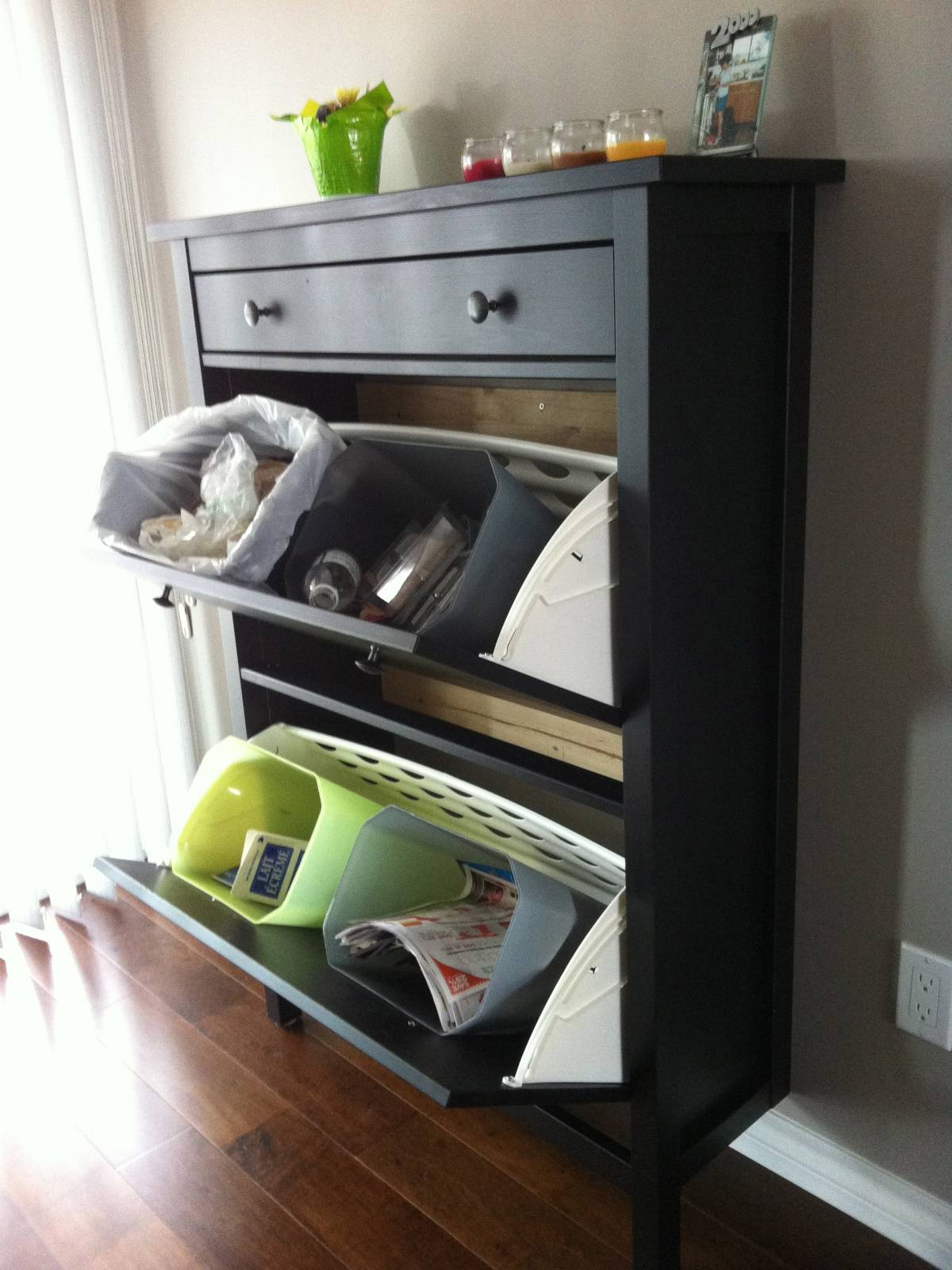 22 Amazing Ideas Of The Tilt Out Trash Bin For Your Home