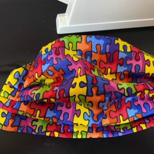 Autism Awareness Face Mask a puzzled face mask that is for Autism Awareness. #Autism #AutismSpeaks (Puzzle Face Mask)