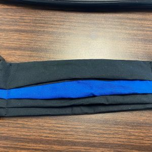 Back the Blue Face Mask - a face mask to help show your support for police and law enforcement. #BacktheBlue