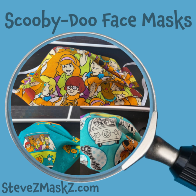 Scooby-Doo Face Masks