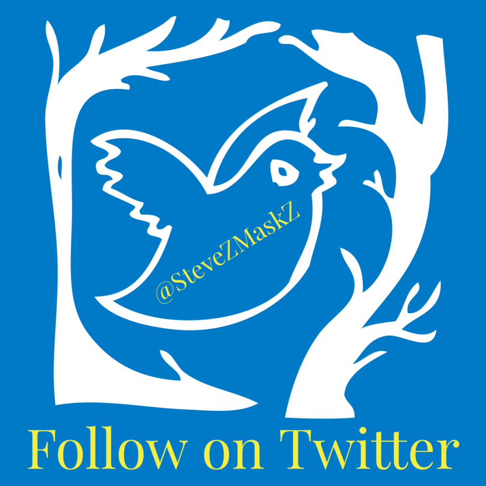 Follow on Twitter SteveZMaskZ