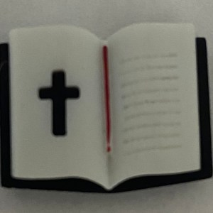 Bible Magnet - A Bible shaped magnet. With a Cross on it. #Bible #Cross