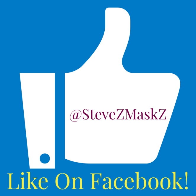 Like on Facebook - Like SteveZ MaskZ on Facebook! #Facebook