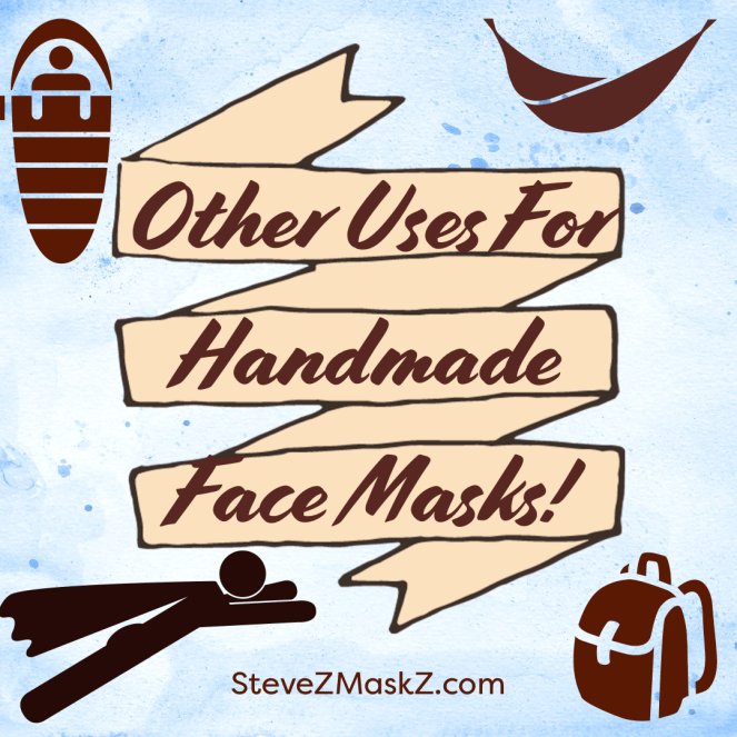 Other Uses for the Handmade Face Mask - Here is a list of other things we can use these handmade face mask for. #FaceMasks