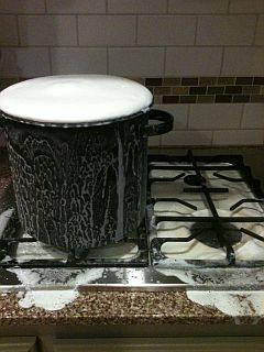 Homemade Laundry Detergent Foul