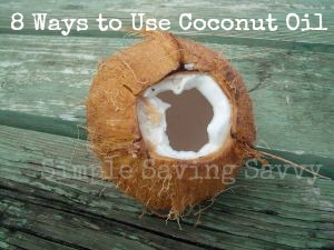 8 Ways to Use Coconut Oil