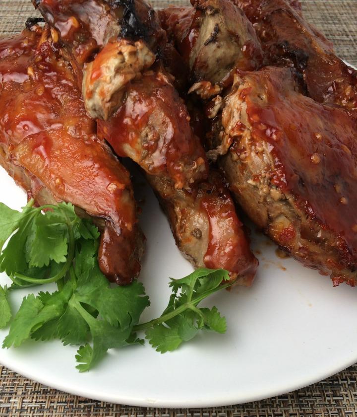 honey garlic pork ribs recipe