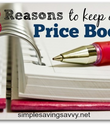 Why You Should Keep A Price Book