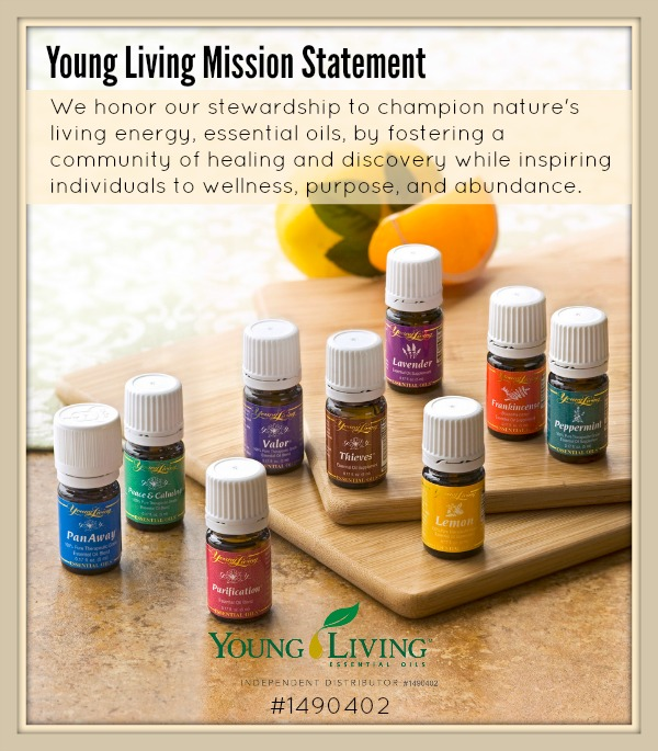 I am a Young Living Independent Distributor