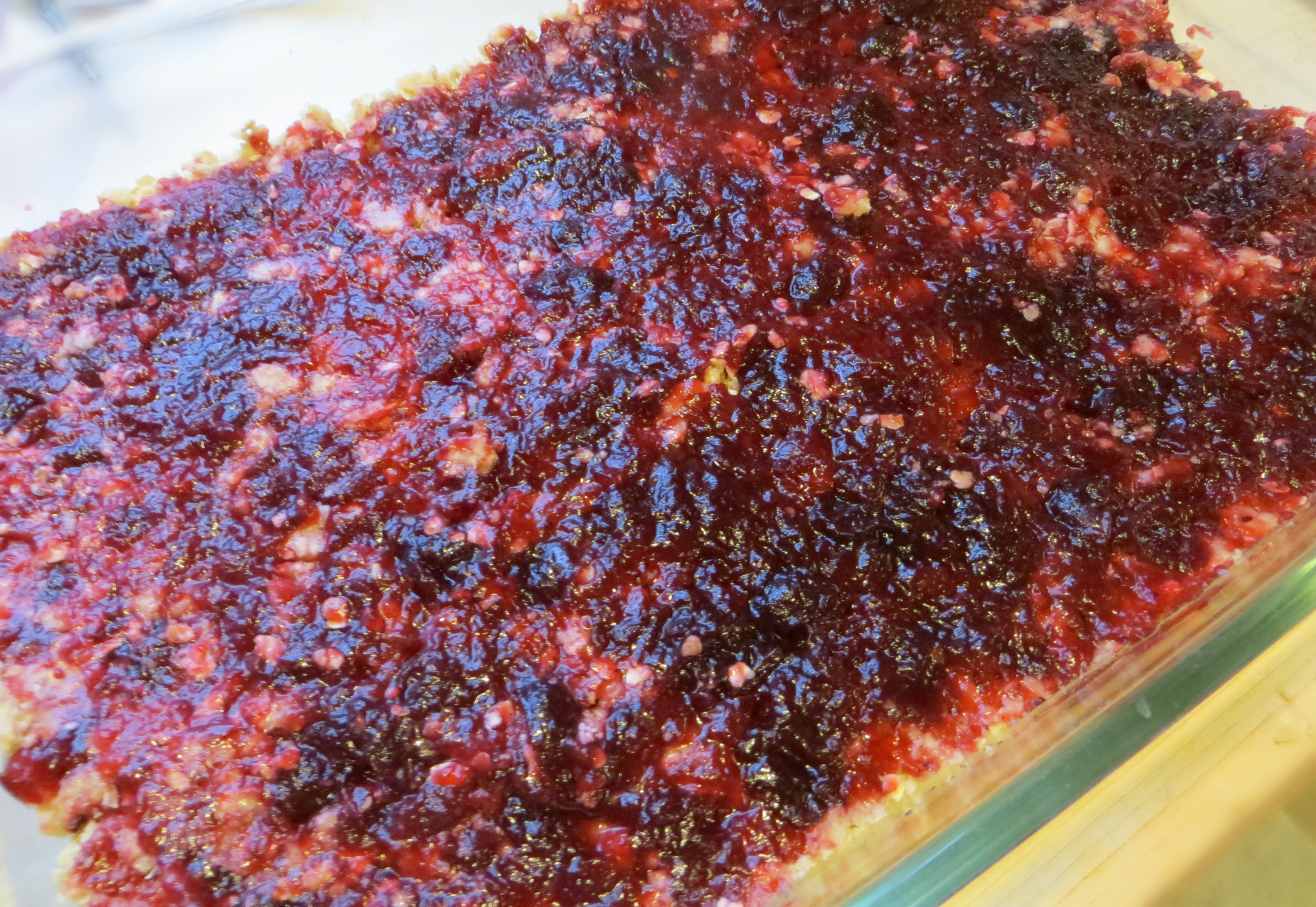 Cranberry Crumb Bars Filling