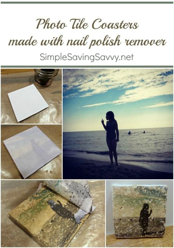 photo coaster gift tutorial
