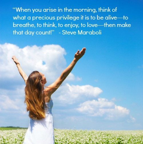Start the Morning With Gratitude