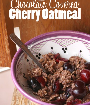 Chocolate-covered-cherry-oatmeal