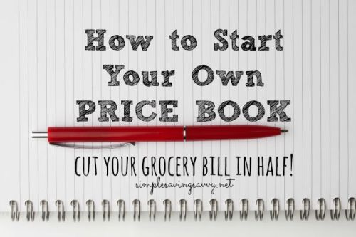 How to Start Your Own Price Book