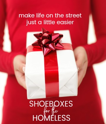 Donations Needed: Shoeboxes for the Homeless