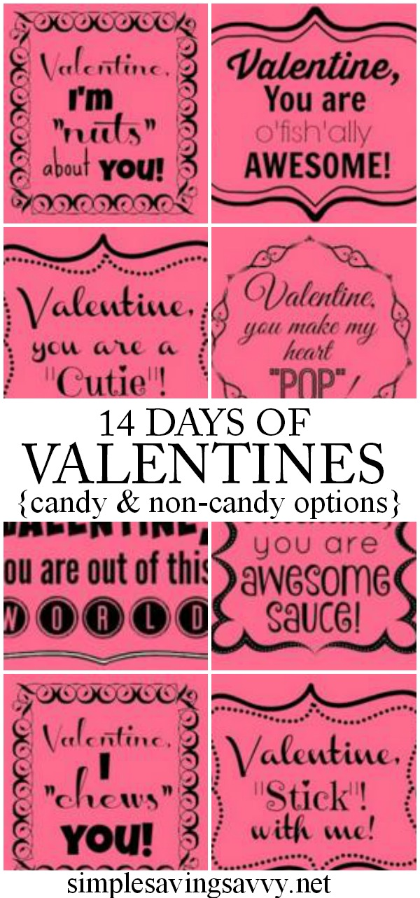 14 Days of Valentines for Anyone
