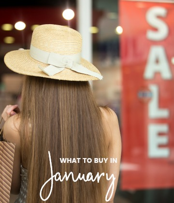 Savvy Shopper's Guide – What to Buy in January