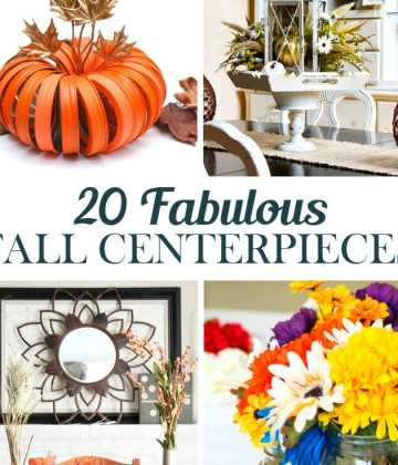 20 Fabulous DIY Fall Centerpieces