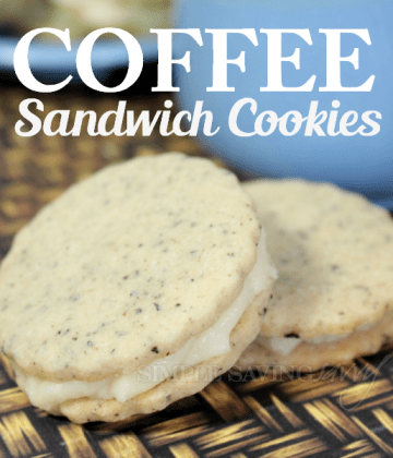 Coffee Sandwich Cookies