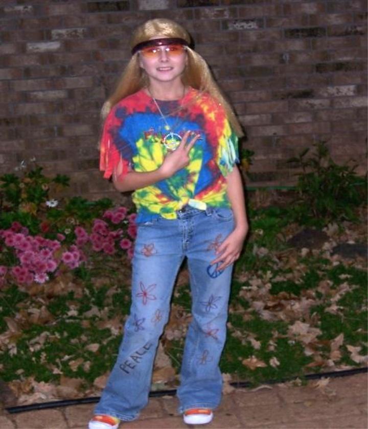 Hippie DIY Halloween Costume Ideas for Kids