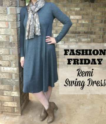 Fashion Friday: Two Ways to Style the Remi Swing Dress