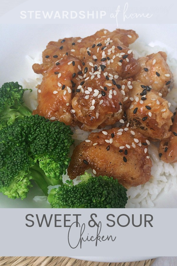 Healthier Sweet and Sour Chicken Recipe - Make a huge batch. the leftovers are perfect for lunches and snacking.