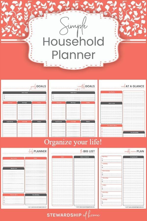 diy simple household binder