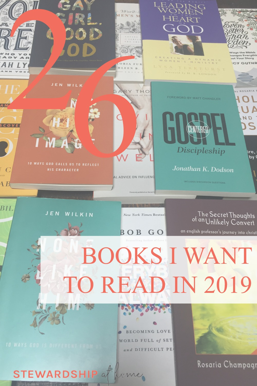 26 Books I want to read this year