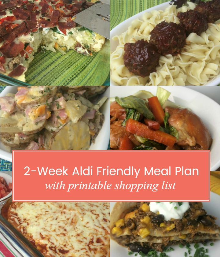 2-Week Aldi Friendly Meal Plan