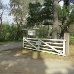 Montsalvat: gate at entrance