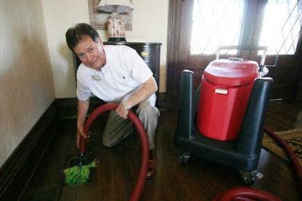 Ben Stewart Cleaning Air Ducts