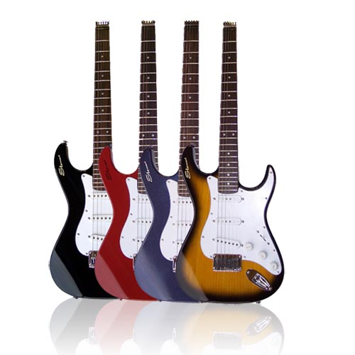Stewart Travel Guitars Color Options
