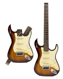 Stewart Stow-Away Electric Travel Guitar